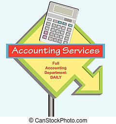 Sign Accounting Department - Banner Full Accounting...