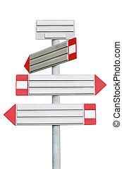 sign arrows
