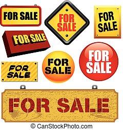 Sign Boards - Sign boards set. Visit my portfolio for...