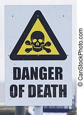 Sign, Danger of Death
