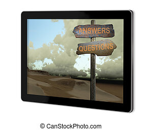 sign direction answers-questions