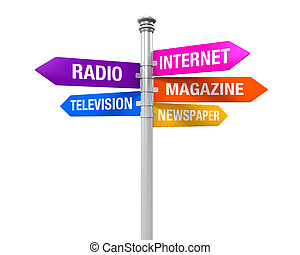 Sign Directions Media Information - Sign Directions of Media...