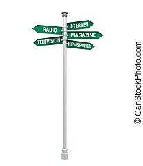 Sign Directions Media Information