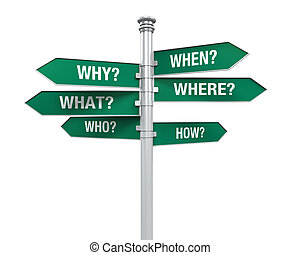Sign Directions with Question Words