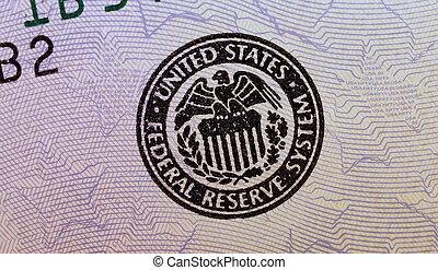 sign dollar bill background