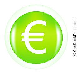 sign euro button