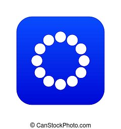 Sign expectations page load icon digital blue