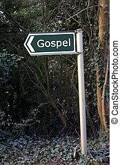 Gospel - Sign for Gospel