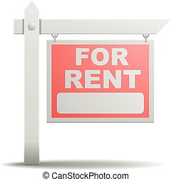 Sign For Rent