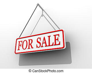 """Sign \""""for sale\"""""""