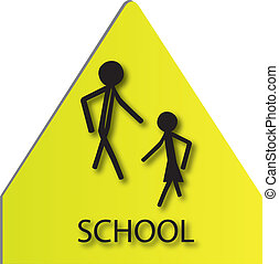 sign for school children