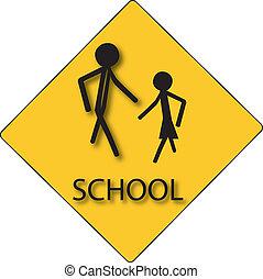 sign for school children