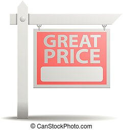 Sign Great Price