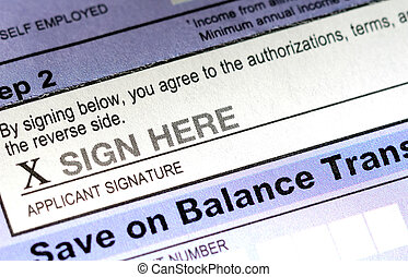 Sign Here - Document Signature