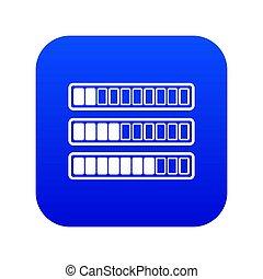 Sign horizontal columns download online icon digital blue