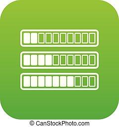 Sign horizontal columns download online icon digital green