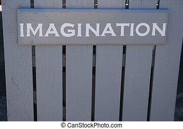 Sign--IMAGINATION