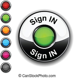 Sign in button.