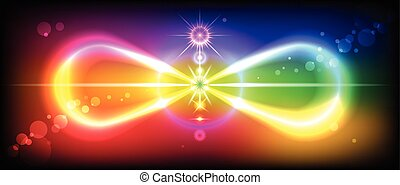 Sign Infinity - Symbol or sign of infinity with the image of...