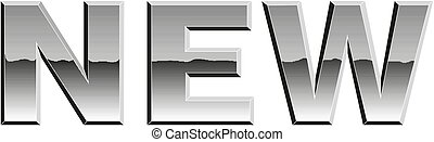 Sign New icon Vector illustration