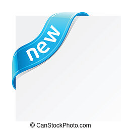 Sign New - Vector illustration of a sign New
