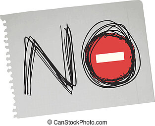 Sign no