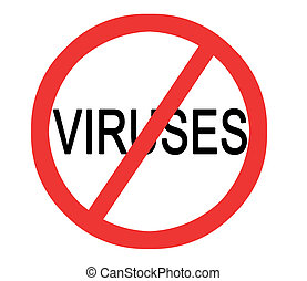 Sign No viruses