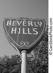 sign of Beverly Hills