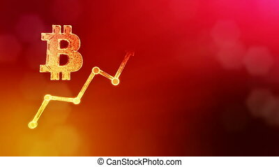 Sign of bitcoin and growing schedule. Financial background...