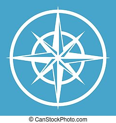 Sign of compass to determine cardinal directions