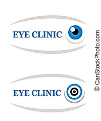sign of eye clinic