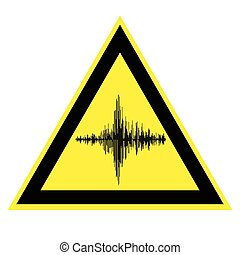 sign of high noise and acoustic vibration