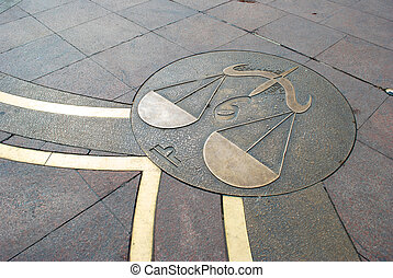 Sign of Libra in the square of Tolouse