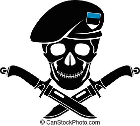 sign of special forces of Estonia