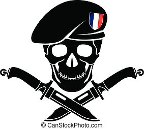 sign of special forces of France