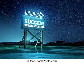 Sign Of Success