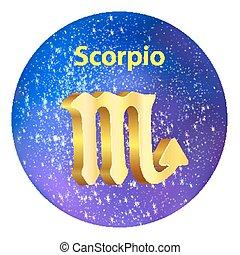 Sign of the zodiac Scorpio