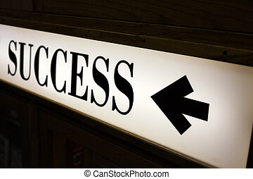 sign of word success