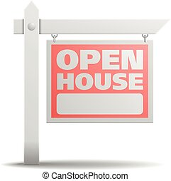 Sign Open House