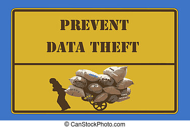 Sign Prevent Data Theft