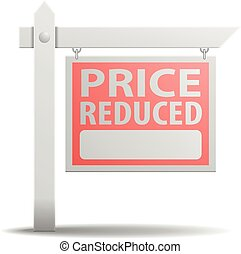 Sign Price Reduced