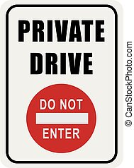 Sign Private Drive