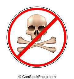 sign prohibiting piracy