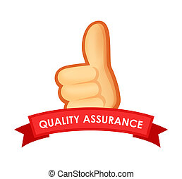 Sign Quality Assurance - Emblem with Thumb Up