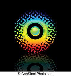 Sign Rainbow-Sun