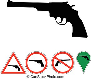 sign revolver