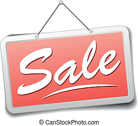 sign sale