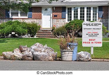 Sign Suburban Home