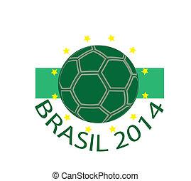 icon brasil 2014 - Sign, symbol, stamp or icon brasil 2014