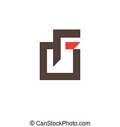Sign the letter F - Branding Identity Corporate logo design...